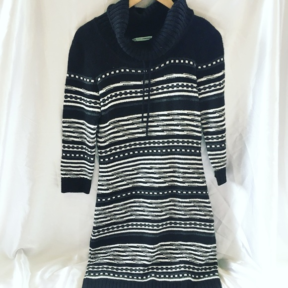 258ebc30d95  Maurice s  Cowl Neck Sweater Dress. M 5b92b36381bbc854a80572cd